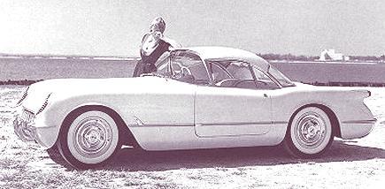 1954 Chevrolet Corvette Convertible Coupe1