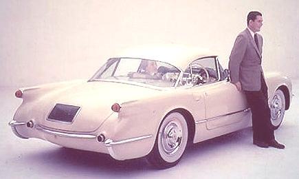 1954 Chevrolet Corvette Convertible Coupe2