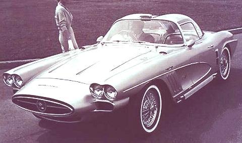 1958 Chevrolet Corvette XP-700 2