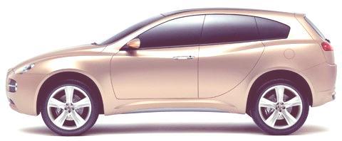 Alfa Romeo Kamal Concept 2003-01