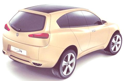 Alfa Romeo Kamal Concept 2003-06
