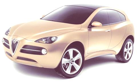 Alfa Romeo Kamal Concept 2003-07