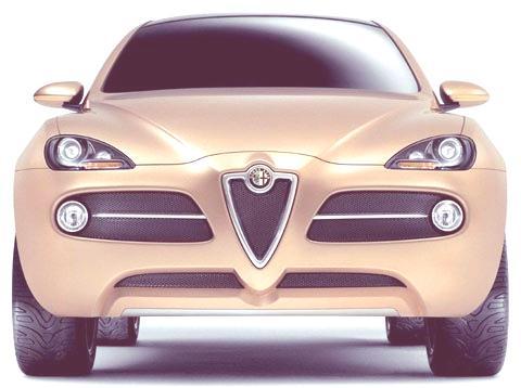 Alfa Romeo Kamal Concept 2003-09
