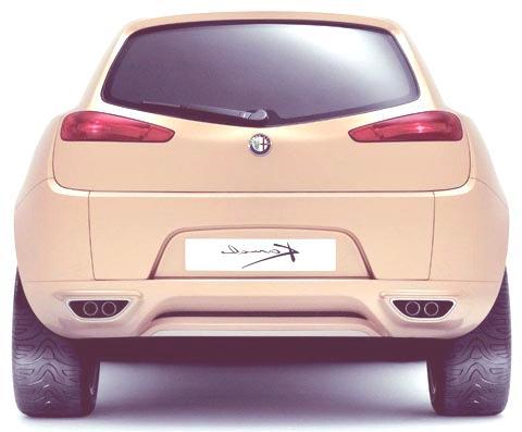 Alfa Romeo Kamal Concept 2003-10
