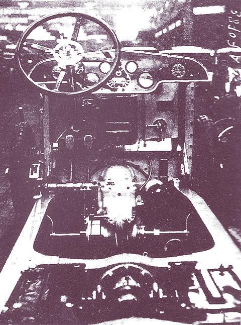 Hispano-Suiza H6-bastidor