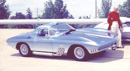 XP-755 Mako Shark Concept 1963 02