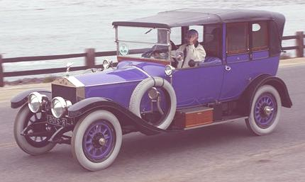 Silver Ghost Barker Double Cabriolet 1914