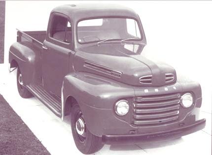 Historia de las Pick-Up ford f 1948 -02