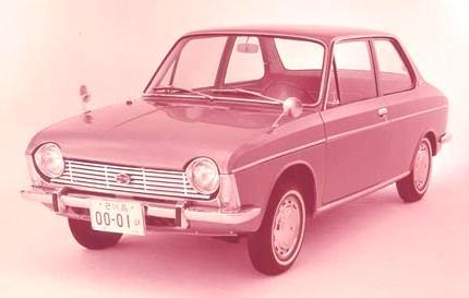1000 1965 subaru