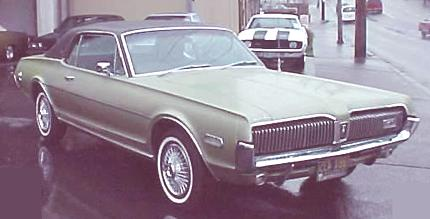 Mercury Cougar 6