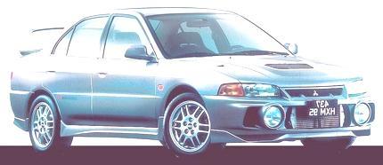 Lancer Evolution IV 1997