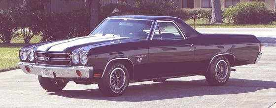 Historia de las Pick-Up  1970 Chevrolet El Camino SS
