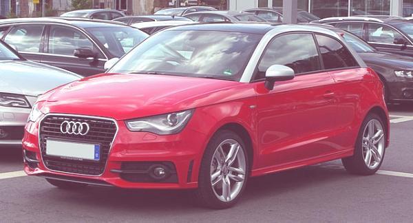 Historia de todos los modelos de Audi Audi_A1_1.4_TFSI_Ambition_S-line_–_Frontansicht,_15._Mai_2011,_Wuppertal
