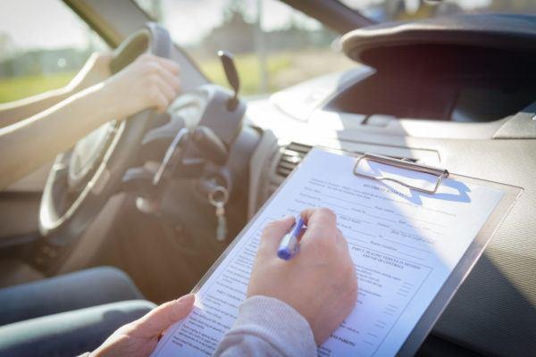 Examen  carnet conducir