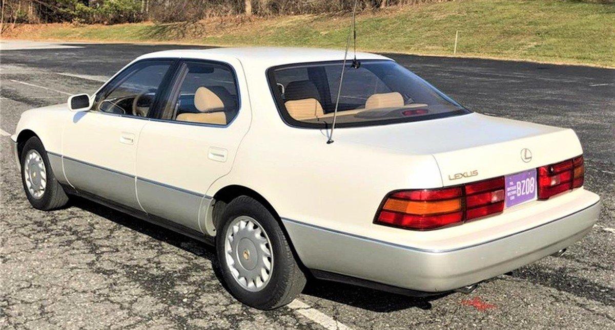 Superviviente de lujo 1990 Lexus LS400