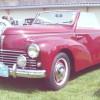 Peugeot 203 Cabriolet 1947, historia