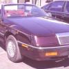 Chrysler Le Barón Convertible 1988, historia
