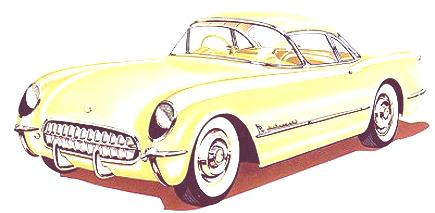 1954 Chevrolet Corvette Convertible Coupe4