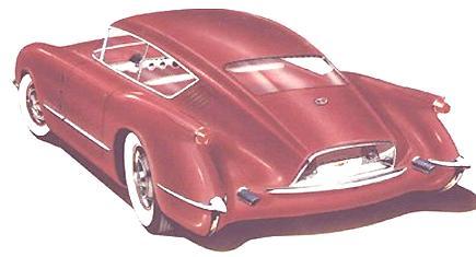 1954 Corvair Concept Car3