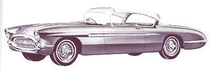 1956 Chevrolet Impala Show Car 1