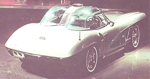 1958 Chevrolet Corvette XP-700 3
