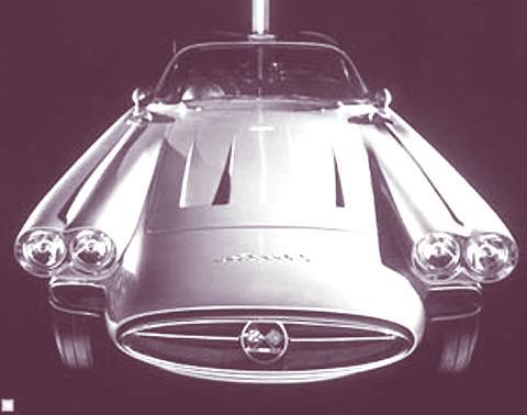 1958 Chevrolet Corvette XP-700 6