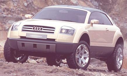 Audi Steppenwolf Concept 2000-01