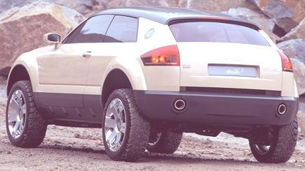 Audi Steppenwolf Concept 2000-02