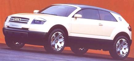 Audi Steppenwolf Concept 2000-03