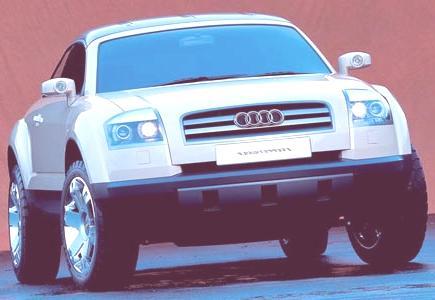 Audi Steppenwolf Concept 2000-04