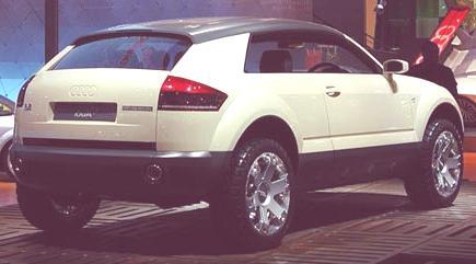 Audi Steppenwolf Concept 2000-05