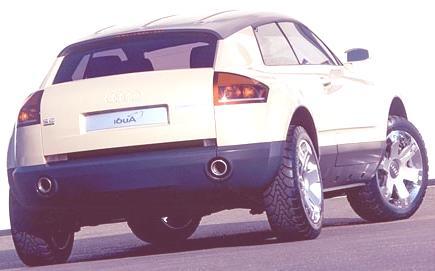 Audi Steppenwolf Concept 2000-07
