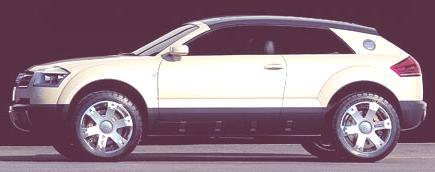 Audi Steppenwolf Concept 2000-09