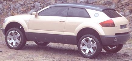 Audi Steppenwolf Concept 2000-15