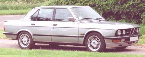 BMW M5 1988-07