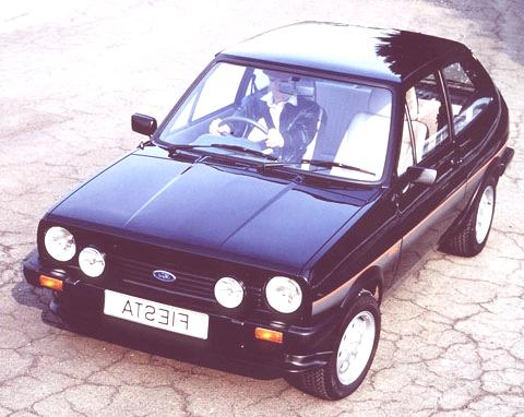 "1981- First appearence of the Fiesta XR2, Ford's first ""Hot"" Hatch."