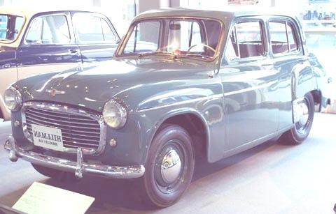 Isuzu-Hillman-Minx-1953