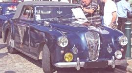 Lagonda 3 Litros Cabriolet 1953, historia