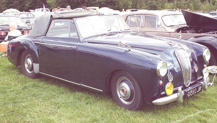 Lagonda 3 Litros Cabriolet 1953-02