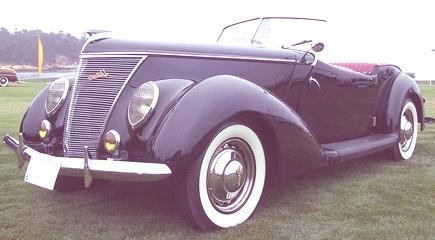 Model 78 Darrin Convertible 1937