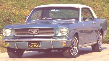 1966 Ford Mustang Coupe. Photo Credit: David Newhardt's Mustang 40 Years book