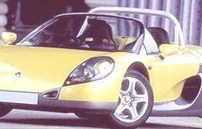 Renault Sport Spider 1995, historia