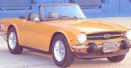 Triumph TR6 1969, historia