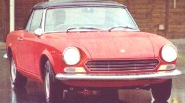 Fiat 124 Spider 1966, historia