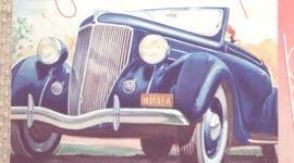 Ford V8 Phaeton 1936, historia
