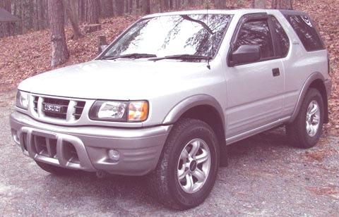isuzu rodeo sport rocker