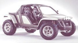 Historia de los Concept Cars, Ford EX Concept Vehicle y Explorer Sportsman 2001