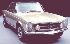 Mercedes Benz 230 SL 1967, historia