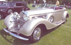 Mercedes-Benz 540 K 1946, historia
