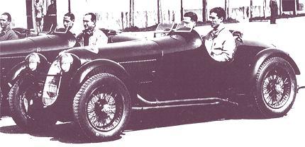Alfa Romeo Scuderia Ferrari 1936-1